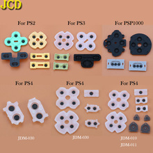 Controller D-Pad Repair-Parts Dualshock PSP1000 Conductive PS3 PS4 30-Silicon-Rubber