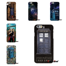 For HTC One M7 M8 A9 M9 E9 Plus Desire 630 530 626 628 816 820 Luxury I Am Doctor Who DW Tardis Silicone Mobile Phone Case(China)