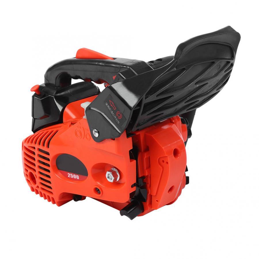 """900W 12/"""" Gasoline Chainsaw Machine Cutting Wood 25CC 3000r//min Grinding Tool BT"""