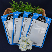 DHL 700Pcs/ Lot 12*21cm Plastic Zip Lock Cell Phone Case Package Bags 4.7''x8.3'' Mobile Phone Shell Zipper Packaging Bag