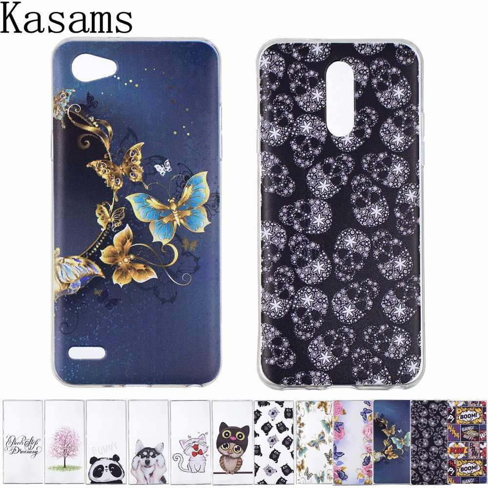 For LG Q7 Q6 Plus Soft TPU Phone Case Painted Cartoon Anti-knock Thin Back Cover Funda sFor L G Q6/LG Q6+ /LG G6 mini Case Coque