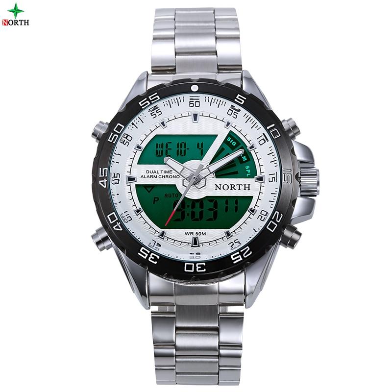 Mens Sport Watches LED Quartz Mens Wristwatch LCD Hand Clocks Male Reloj Pulsera Erkek Kol Saati Luxury Brand Patek Watch Men<br><br>Aliexpress