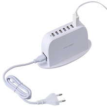 usb charger 40W 7 Port Multi USB Wall Charger Multiple DeviceChargeur USB for Apple iPhone iPod iPad Samsung Galaxy Tab