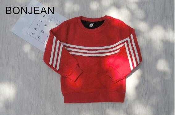 free shipping 2017 Autumn new childrens boys clothing leisure sweater long-sleeve plus velvet head xz0331<br>