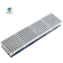 1pcs MAX7219 Dot Matrix Module For Arduino Microcontroller 4 In One Display with 5P Line(China)