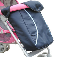 2017 New Dsland Bugaboo Baby Stroller Foot Cover Type Bassinet Set Thick Cotton Padded Cart Accessories Wholesale Winter Warm