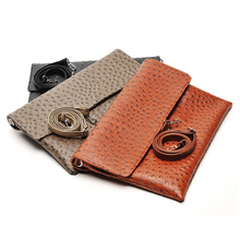 2016 New Women Day Clutches Soft Pu Leather Handbags Men Casual Clutch High Quality Unisex Envelope Bag
