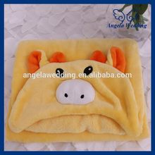B003A nice good quality 2017 new cute soft cheap baby wrap blanket(China)