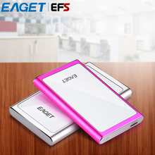 Original Eaget G90 2.5'' Ultra-thin USB 3.0 High Speed External Hard Drives Portable 500GB 1TB Shockproof Mobile Hard Disk HDD(China)