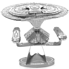 Star Trek Uss Enterprise Ncc 1701d 3D DIY Metal Model Puzzle Miniature Scale Building Kits Toy Adult Hobby Science Academia