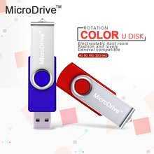New swivel USB Flash Drive memory cle usb stick U disk pen drive 64GB USB 2.0 4GB 8GB 16GB 32GB pendrive Flash Drive for gift(China)