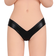 Special 5 Colors Sexy Metallic Lingerie G-String Lady Micro Thong Underwear Pants Bikini Briefs(China)