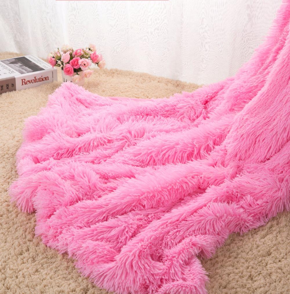 Drop-Shipping-Sofa-Air-Bedding-Throw-Blankets-Mantas-White-Pink-Grey-Fleece-Fluffy-Plush-Bedspread-Couverture (3)