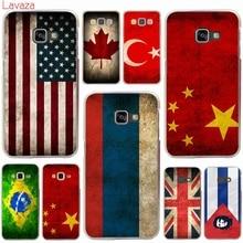 Lavaza Russian USSR Brazil USA UK Turkey Hard Case Samsung Galaxy A3 A5 A7 A8 2015 2016 2017 2018 Grand Prime Note 8 5 4 3