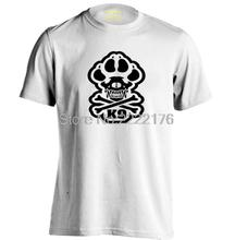 K-9 Special Unit Police Dog Foot Mens & Womens Trendy T Shirt(China)