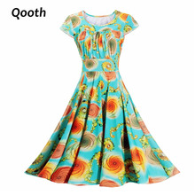 Women's Floral Printed Summer Dress Milk Silk Sooth Plus size 3XL Short Sleeve Knee Length A line Slim Casual Dresses DF112-3