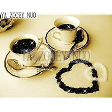 5D DIY Diamond Painting 3D Coffee Cup Pattern Diamond Embroidery DIY Needlework Cross Stitch Full Rhinestone Painting gift K1038