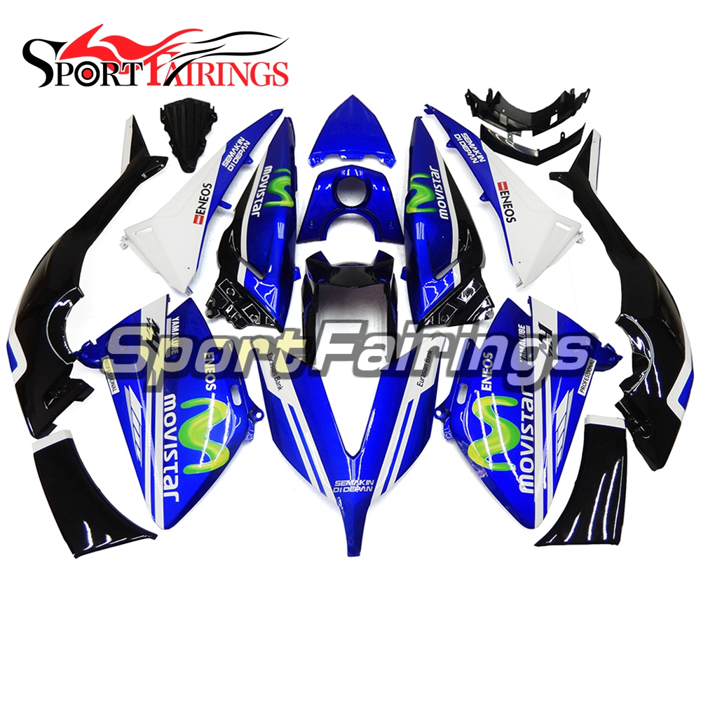 Complete Fairings For Yamaha TMAX 530 15 2015 T-Max ABS Plastic Kit Injection Motorcycle Fairing Kit Moto Carenes Blue Green(China (Mainland))