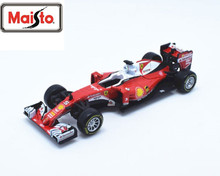 Maisto Bburago 1:43 SF16-H Sebastian Vettel NO.5 F1 Formula One Racing Diecast Model Car Toy New In Box Free Shipping