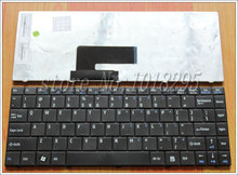 NEW US keyboard for MSI X320 X300 X340 X400 Tastatur Medion Akoya Mini E1312 E1313 Black US laptop keyboard(China)