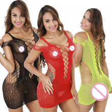 Buy plus size lingerie sexy women's exotic apparel mesh baby doll sexy lingerie hot sex erotic costumes fishnet babydolls underwear
