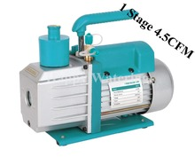 220V/50HZ Single Stage 4.5CFM 1/3HP Rotary Vane Deep Portable Vacuum Pump CFM HVAC Tool AC R410a R134