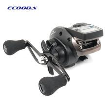 Fishing Reel 6kg Drag 6.2:1 Electronic Digital Display Fishing Reel 7 Ball Bearing Casting Fishing Line Counter reel(China)