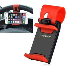 Universal Car Holder Steering Wheel Bike Clip Mount Rubber Band Holder For iPhone Samsung Mobile Phone Bracket(China)