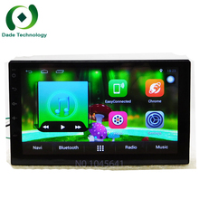 "7"" Double 2 Din Android 6.0 Universal Car Radio Quad Core 1024*600 HD screen Car GPS Navigation Best Head Unit Car PC no dvd"