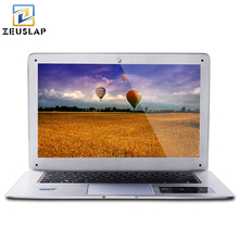 ZEUSLAP 14inch 8GB RAM+64GB SSD+500GB HDD Windows 7/10 System Dual Disk Intel Quad Core Laptop Notebook Computer Best Sell(China)