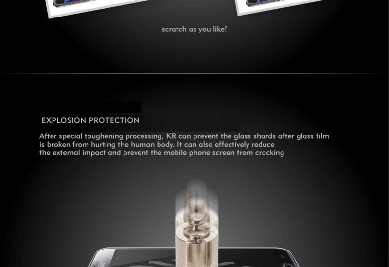 100% Original 9H 0.26mm High Clear Explosion-proof Front LCD Tempered Glass For Lenovo A1000 A 1000 Screen Protector Glass+Gift (5)