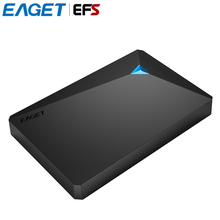 EAGET G20 2.5 inch 500GB 1TB 2TB 3TB Hard Drives High Speed USB3.0 Shockproof Full Encryption External Hard Disk HDD For PC(China)