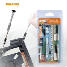 Jakemy JM-8143 mobile phone repair screwdriver set Phillips Slotted Torx Pentalobe Y 3.0 screw bit for PC tablet cell phone