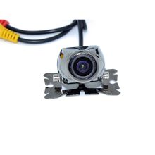 HD CCD 170 Degree Angle Night Vision Color LED Sensor Car RearView  Reverse View Parking Camera Free Shipping