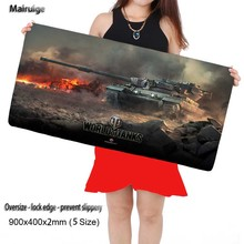 Mairuige World of Tanks Free Shipping Locking Edge Rubber Pad Mouse Mat Desk Pad Keyboard Pad for Dota CS Go League of Legends(China)
