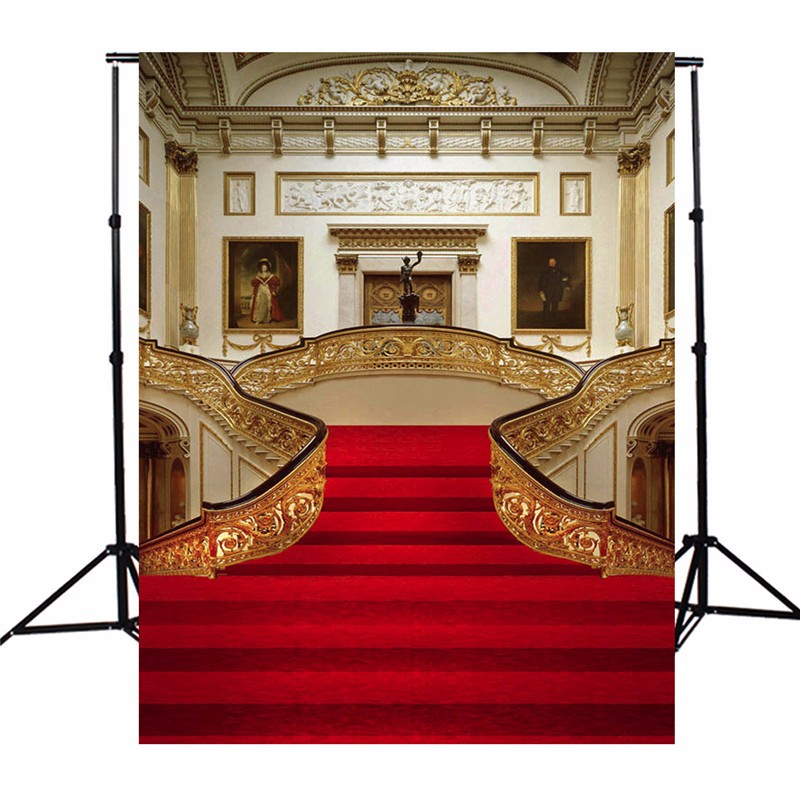 3X5FT vinyl Photography Background wedding Palace Photographic Backdrops For Studio Photo Props cloth 90cm x 150cm(China (Mainland))