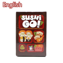 Sushi Go Full English Version card game for family party fun board game