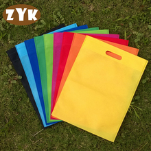 30*40 Non-woven fabric Shopping Bag Foldable Reusable Grocery Bags Convenient Totes Bag Shopping Cotton Tote Bag