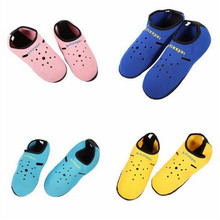 Women Men Shoes 3mm Neoprene Short Beach Socks Non-slip Anti skid Scuba Snorkeling Sock Fins Flippers Wetsuit Seaside Home Shoes(China)