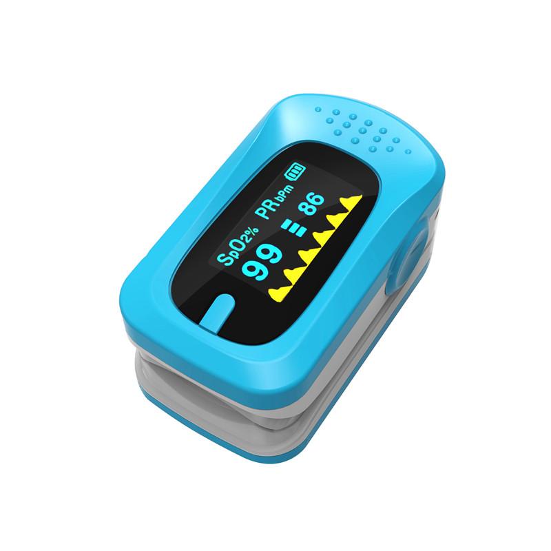 Portable Finger Pulse Oximeter Digital Blood Oxygen Pressure Meters Device Medical Equipment Household Health Monitors 11