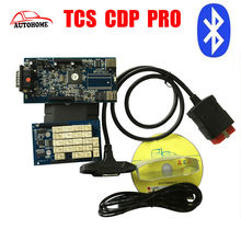 with bluetooth 2015.R3 Software TCS CDP Pro free Activate diagnostic tool TCS CDP PRO For Cars & Trucks with china post shipping