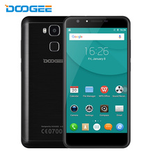 In Stock Doogee Y6C MTK6737 Quad Core Android 6.0 Mobile Phone 5.5 Inch Cell Phone 2G RAM 16G ROM 8.0MP Front Camera Smartphone