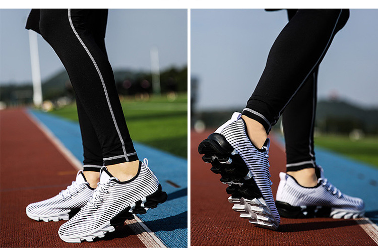 17New Hot Light Running Shoes For Men Breathable Outdoor Sport Shoes Summer Cushioning Male Shockproof Sole Athletic Sneakers 35