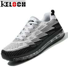 Keloch 2017 Men Women Air Shoes Fly Weave Breathable Soft Trend Men Running Shoes For Women Male Sport Snekers