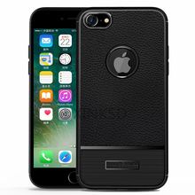Luxury Brand Full Cover Carbon Fiber Case iPhone 7 Cover Soft Silicone Coque iPhone 8 Case Cover Luxury Leather Fund