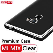 Buy xiaomi mi mix case silicon back tpu protective ultra clear mofi clear xiaomi mi mix cover soft thin 6.4 xiaomi mix case for $4.86 in AliExpress store