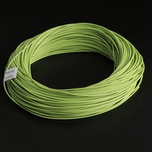Maximumcatch High Quality 100ft 1wt-8wt Double Tapered Design Moss green&orange Color fly fishing line