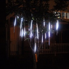 30CM Led Meteor Rain Tube Christmas holiday Lights wedding decoration lights  party garden tree string flasher fairy lighting