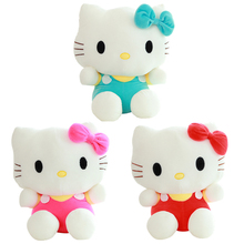 20cm Mini Hello Kitty Plush Toys Dolls Kawaii Stuffed Cartoon Toys Doll Girls Kids Brinquedos Factory Price
