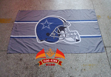 Dallas Cowboys Flag National Football League 3ft x 5ft Polyester Banner Flying 150* 90cm Custom flag sport(China)